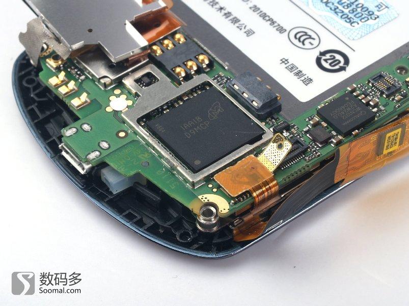 huawei 华为 u8800 智能手机-镁光记忆体晶片