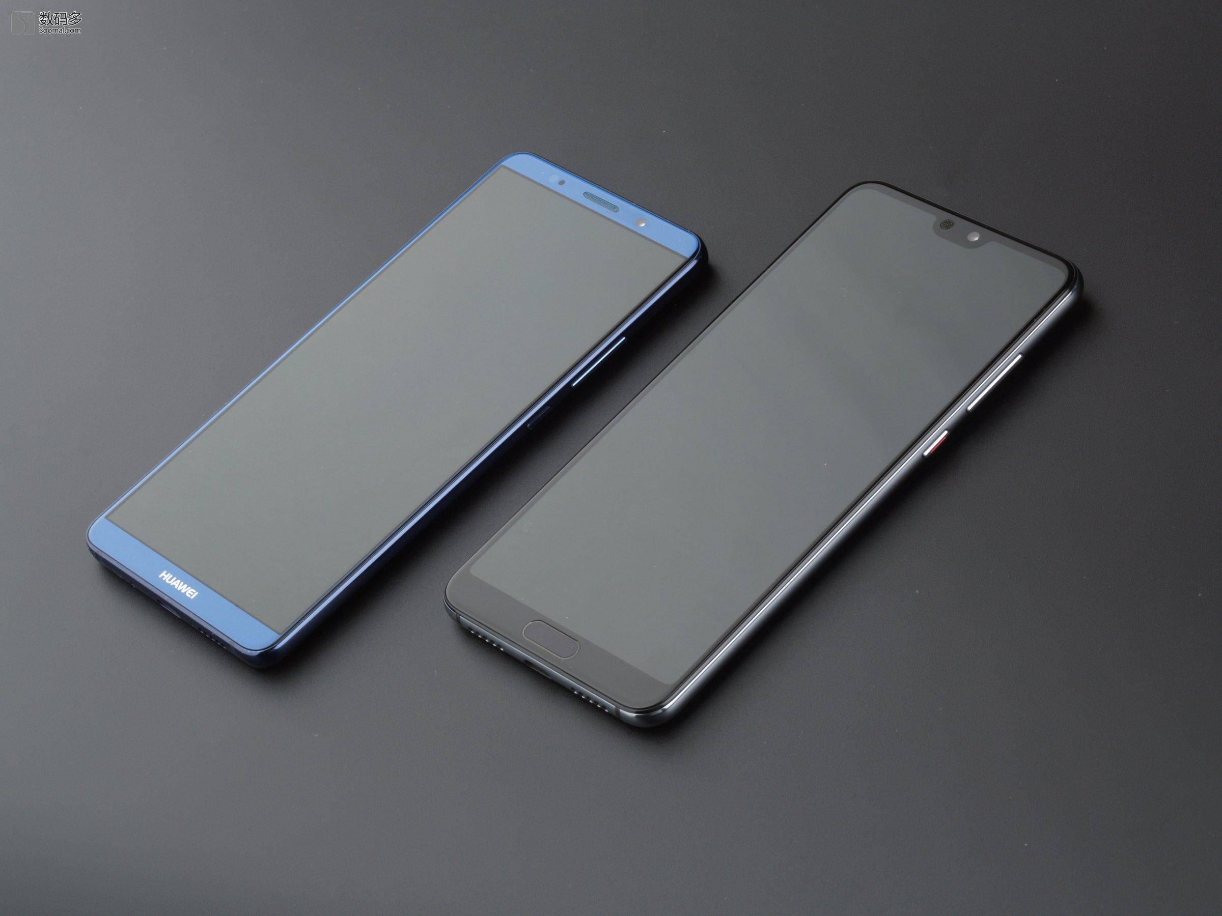 huawei 华为 p20 pro 智能手机   对比华为mate10 pro图片